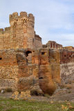 Ruin of castle in Avila, Spain Royalty Free Stock Image