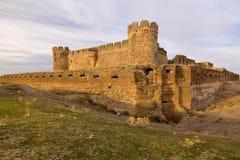 Ruin of castle in Avila, Spain Royalty Free Stock Images