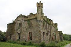 Ruin of Castle Bernard. On Bandon Golf club course Bandon Ireland Royalty Free Stock Image