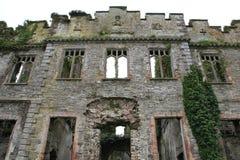 Ruin of Castle Bernard. On Bandon Golf club course Bandon Ireland front view Stock Photography