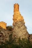 Ruin of castle Devin - Bratislava royalty free stock photography