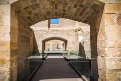 Ruin of the castle. Castle, ruin fortress in Zamora Spain Stock Photo
