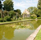 Ruin in the castle garden Royalty Free Stock Photos