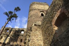 Ruin of the castle gutstein Royalty Free Stock Photo