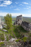 Ruin of castle Gymes Stock Photo
