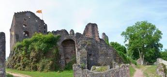 Ruin of castle Hohengeroldseck Royalty Free Stock Photography