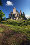 Ruin of Castle Hrusov Stock Image