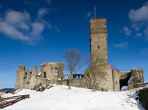 Ruin of Castle Koenigstein Stock Photos