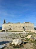 Ruin of the castle Stock Photos