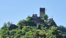 Ruin Castle Metternich Royalty Free Stock Image