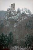 Ruin of Castle Neideck Stock Photo