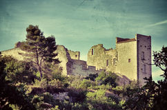 Ruin of the castle Royalty Free Stock Image