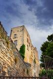 Ruin of the castle Stock Photo