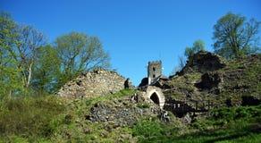 Ruin of castle Ryzmberk Royalty Free Stock Photos