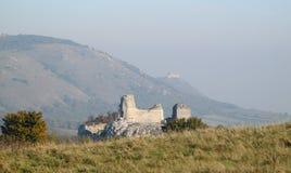 Ruin castle Siroci hradek castle in Czech republic Royalty Free Stock Photography