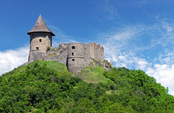 Ruin of Castle Somoska, Slovakia Stock Photography