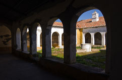 Ruin Cloister Stock Photography
