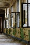 Ruin corridor old interior architecture 4 Royalty Free Stock Photos