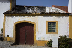 Ruin in Crato. A municipality in Portalegre district in Portugal Royalty Free Stock Photos