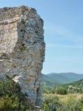 Ruin of a Croatian castle Stock Image