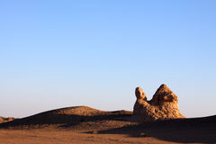 Ruin in desert Stock Photo