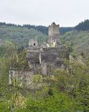Ruin in the Eifel Royalty Free Stock Photo