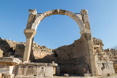 Ruin at Ephisus Royalty Free Stock Photos