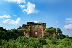 Ruin Fort Royalty Free Stock Images