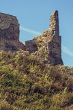 Ruin fortification walls Royalty Free Stock Images