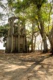 Ruin garden Stock Image