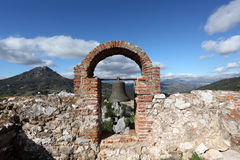 Ruin in Gaucin, Andalusia, Spain Royalty Free Stock Photos