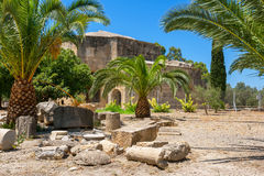 Ruin of Gortyn. Crete, Greece Royalty Free Stock Photos