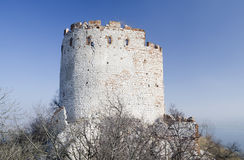 Ruin of the gothic castle Stock Image