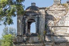 Ruin of a Guatemalan colonial buiding Royalty Free Stock Image
