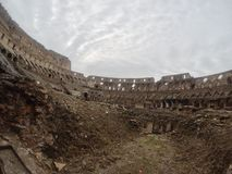 Colosseum in Rome, Italy. stock photography