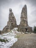 Ruin Hohenfreyberg Stock Photo