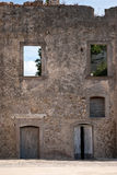 Ruin house Stock Images