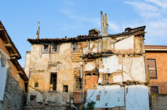 Ruin house Royalty Free Stock Photo