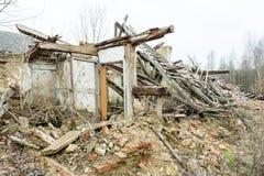 The ruin house Royalty Free Stock Photo
