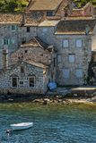 Ruin house near the sea Royalty Free Stock Photo
