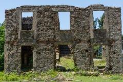 Ruin of a house Stock Photos