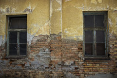 Free Ruin House With Windows Stock Image - 33607431