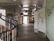 Ruin Interior Stock Photography