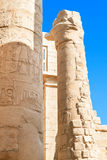 Ruin of the Karnak Temple, Egypt Stock Photography