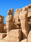Ruin of the Karnak Temple, Egypt Royalty Free Stock Photos