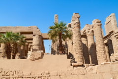 Ruin of the Karnak Temple, Egypt Royalty Free Stock Image