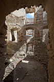 Ruin of Krzyztopor Castle in Ujazd, Poland Royalty Free Stock Photography