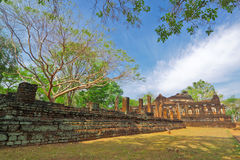 Ruin of Kum Pang Pech historical park,Thailand Stock Photography