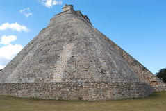 Ruin maya. Uxmal Maya ruin in  merida yucatan mexico Stock Photo