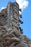 Ruin maya Royalty Free Stock Photo